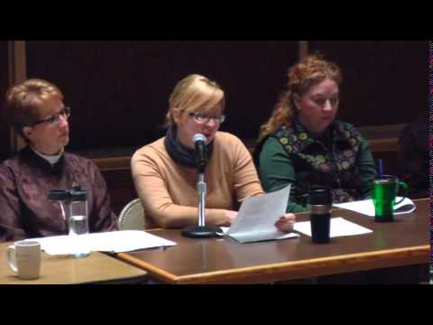 Southwest Minnesota State University Women in Greek Mythology Poetry Panel Reading 3.5.2014