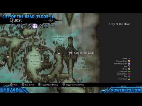 Darksiders 2 - All Book of the Dead Page Locations (The Book of the Dead Trophy / Achievement)