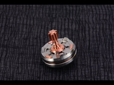 How it's made: BilletSPIN Pandora Spinning Top!