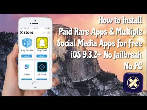 NEW xStore; Install Paid Apps & Multiple Social Apps For Free iOS 9.3.3 No JB/PC
