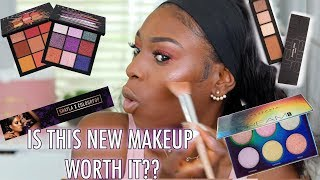 TRYING NEW MAKEUP IVE SEEN EVERYWHERE! (INCLUDING THE FAILS) JLO x INGLOT, HUDA BEAUTY & MORE