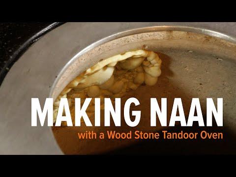 Making Naan in a Tandoor Oven - Making Naan Bread
