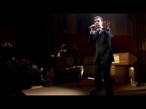 Lin-Manuel Miranda Performs at the White House Poetry Jam:  (8 of 8)