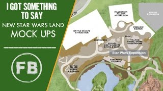 8 things to learn from new Star Wars Land mockups
