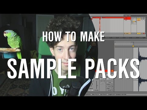 How to Make a Sample Pack in Ableton // DAW (Music Production Tutorial)