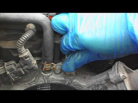 Replace Coolant Temperature Sensor - Corsa D 2006 onwards