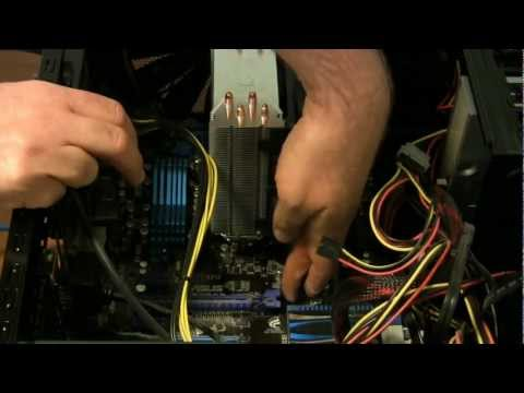 How to remove a video card