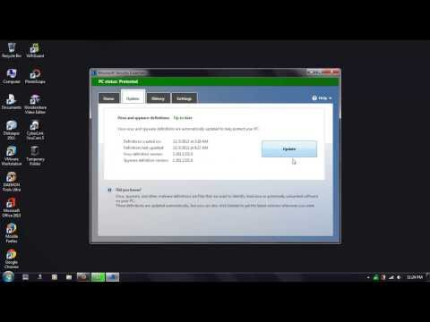 How To Disable Microsoft Security Essential Auto-Update