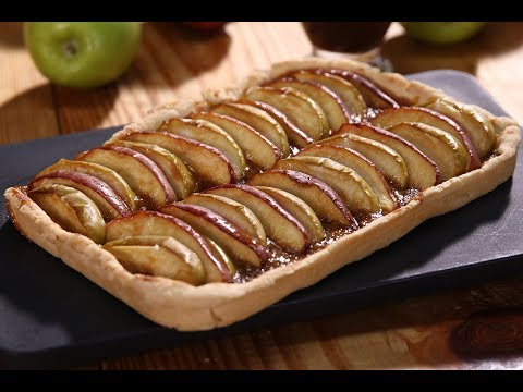 Apple Toffee Tart | Apple Tasty Delight | Sanjeev Kapoor Khazana