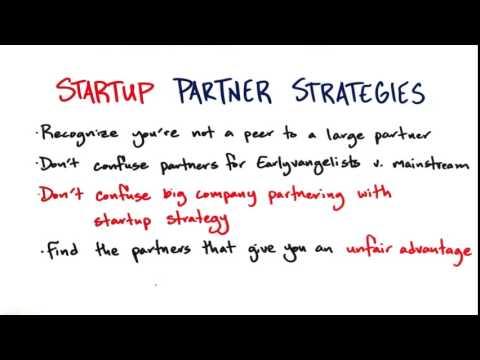 18   Startup Partner Strategies Summary