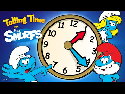 Telling Time with the Smurfs Educational Android İos Free Game GAMEPLAY VİDEO