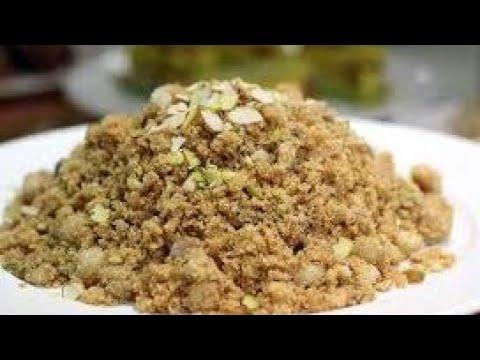 Dry fruits ki panjiri | Panjiri recipe nutritional punjabi sweet | Very healthy and easy to make