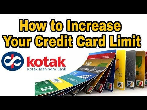 How to Increase Your Credit Card Limit | Kotak Mahindra Bank