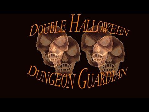 Terraria - Double Halloween Dungeon Guardian Battle
