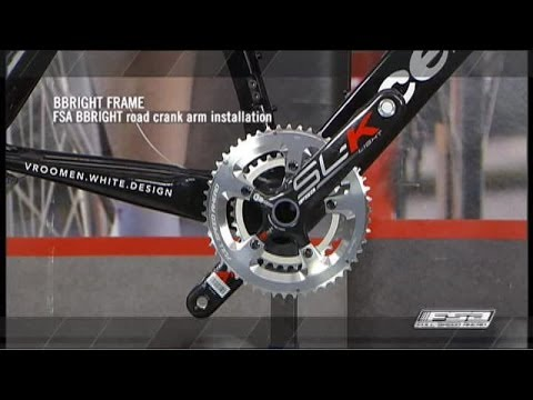 How To Install A BBRight Crankset On A Press Fit 30 Frame - FSA Road