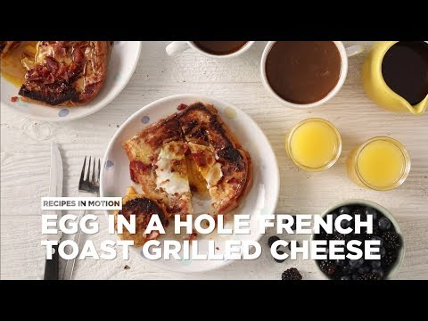 How to Make Egg in a Hole French Toast Grilled Cheese | Brunch Recipes | Allrecipes.com