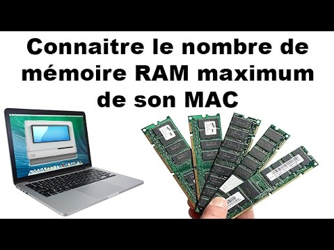 Connaitre le nombre de mémoire RAM maximum de son MAC - MacTracker : OS X / IOS