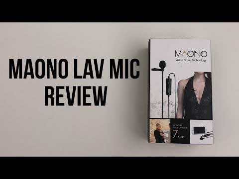 Maono Lavalier Microphone Review