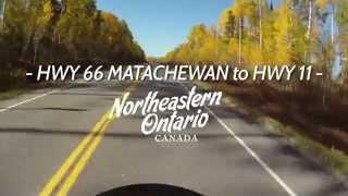 Top Ten Roads for Motorcycle Touring in Northeastern Ontario