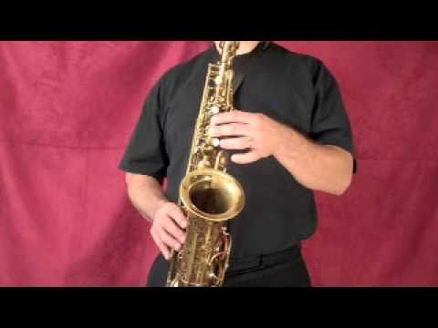How to Play Alto Sax - Jazz Saxophone for Beginners - Beginning Sax Lessons