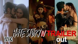 Hate Story IV TRAILER out   Urvashi, Ihana, Karan and Vivan