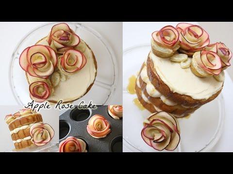 Caramel Apple Rose Cake!