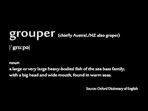 How to pronounce - grouper
