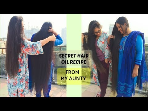 My Auntys Secret Homemade Hair Growth Oil | DIY How To Stop Hair Fall And Get Long Thick Hair