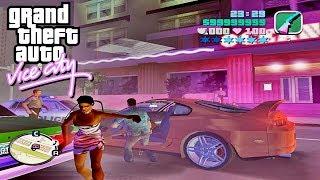GTA: Vice City DELUXE (2004) - Turbo Mod - Night Racer (Gameplay)