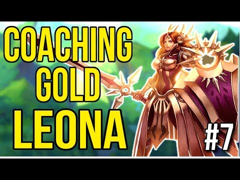 Coaching a Gold Leona | Coaching Lesson #7 - League of Legends