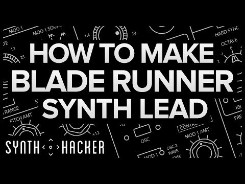 How To Make Blade Runner Synth Lead (Cinematic / Ambient / Diva Tutorial)