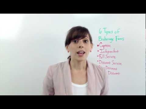 6 Types of Brokerage Firms