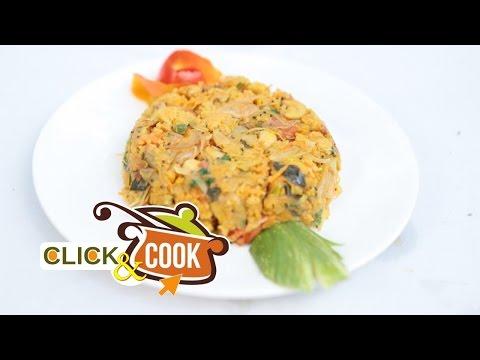 Click & Cook | Corn Flakes upma | Quick lunch Recipe | Vikatan Samyal