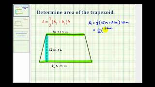Ex Find The Area Of A Trapezoid