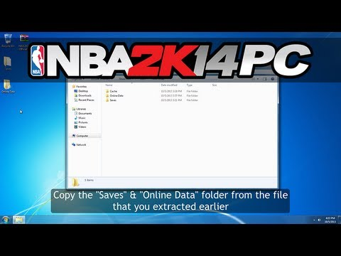 NBA 2K14 - How to Download and Install Roster Updates