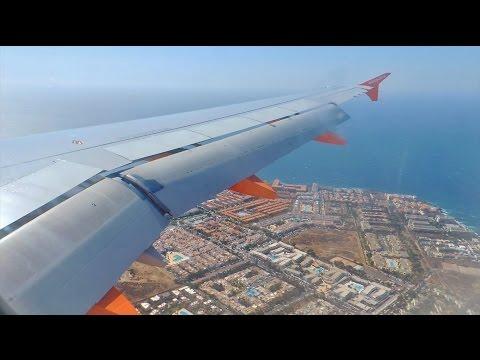 [HD] easyJet EZY1901 Landing at Tenerife South - A320 - *Full Length*