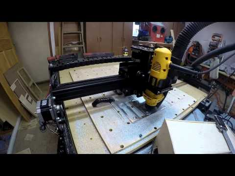 Cutting 1/4 Inch 6061 Aluminum Plate with X-Carve CNC Machine