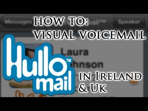 How to: Visual Voicemail in Ireland, UK on iOS, Android and Blackberry