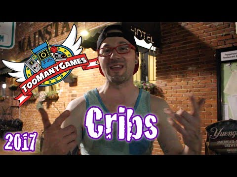 Too Many Games Hotel Cribs 2017 | Russ Lyman, David Apuzzo, & The Co-Op Collector