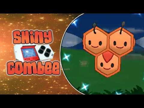 [LIVE] Shiny FEMALE Combee after a 40 Pokeradar Chain!