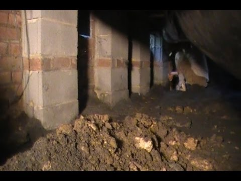 How To Clean Foundation Footer Pipe - Waterproofing