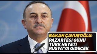 """Dışişleri Bakanı Çavuşoğlu: """"Libya'da Tek Çözüm Siyasi Çözümdür"""""""