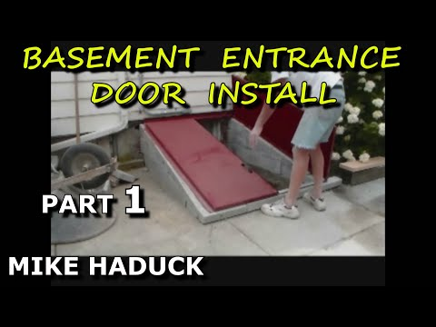 How I install a cellar door - Mike Haduck