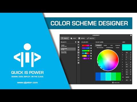 Color Scheme Designer - Qipster Tutorial