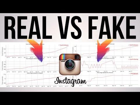 How To Spot 'Fake' Instagram Profiles (Follow 4 Follow Method)