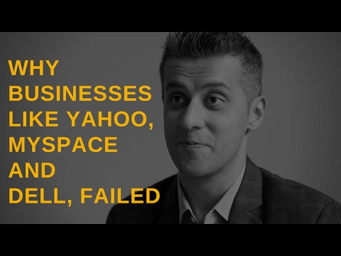 Episode 1: Why businesses like Yahoo, Myspace, and Dell failed