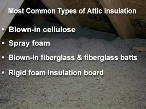 Building Science Video: Roof Insulation