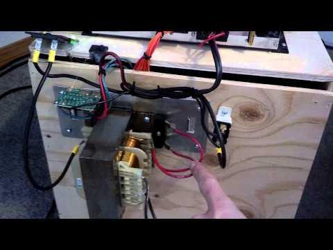 Indoor car amplifier using 12v battery charger