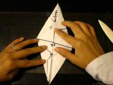 ORIGAMI GREAT STELLATED DODECAHEDRON Folding Instructions PART 1