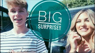 BIG SURPRISE + BEHIND THE SCENES | Paige Danielle & HRVY